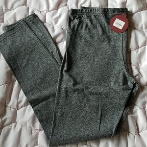 NWT grey SO leggings